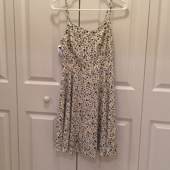 932f51798a49c Old Navy Floral Print Fit & Flare Cami Dress NWT